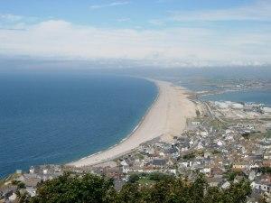 幾年前的卻西爾海灘(圖片來源:http://www.geograph.org.uk/photo/7243,作者:Val Vannet)