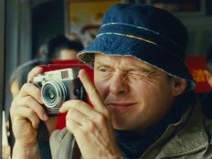 《尋找快樂的15種方法》男主角Simon Pegg。他也是Star Trek 系列中那個很愛碎念的老骨頭Scotty。下月的最新一集《星際爭霸戰:浩瀚無垠》(Star Trek: Beyond)他還是其中一位編劇。
